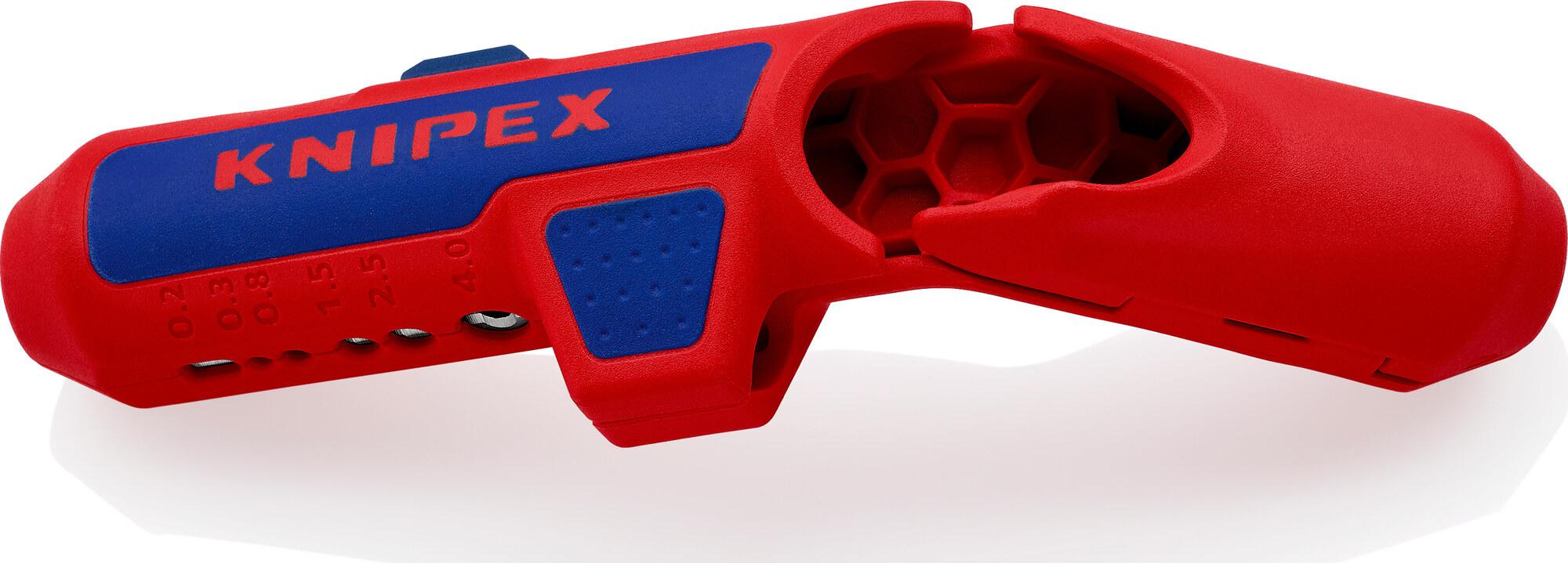 KNIPEX ErgoStrip® Outil universel à dégainer 135 MM