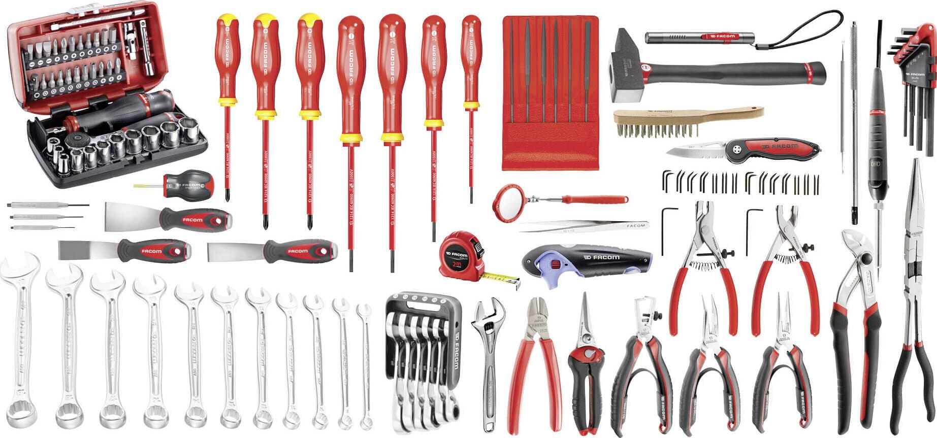 FACOM Set Elektromechanik 105-tlg | 30,000 Tools at Tools-Giant Online Shop