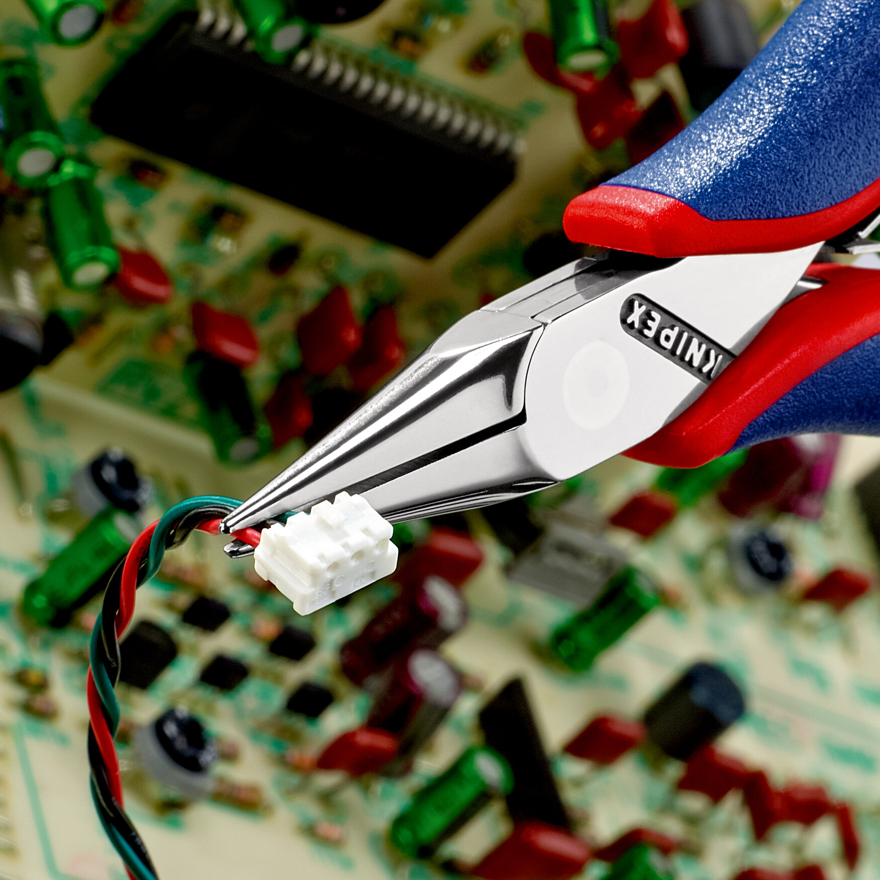 KNIPEX  Elektronik-Greifzange 115 mm 35 22 115 SB