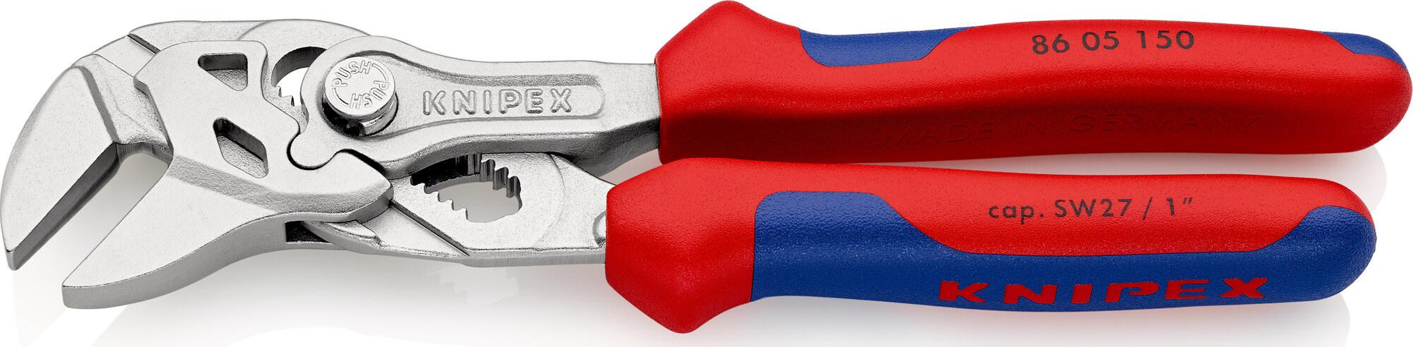KNIPEX 86 05 250 Zangenschlüssel Zange und Schraubenschlüssel in einem Werkze...