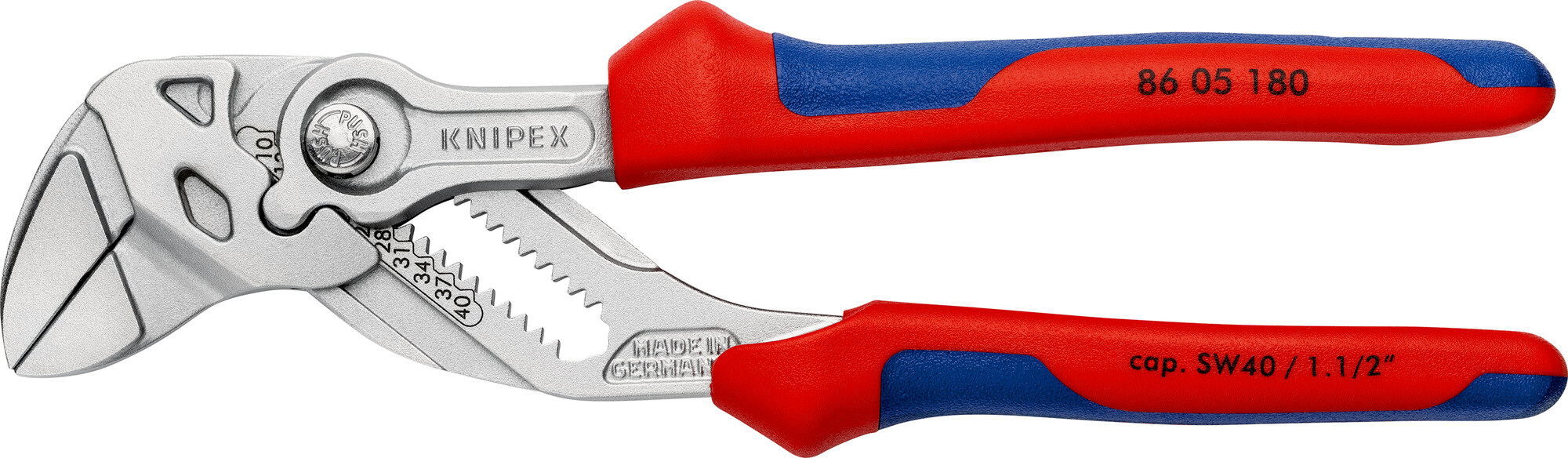 Knipex 180mm Adjustable Wrench Pliers 86 02 180