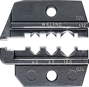 KNIPEX Crimping dies for solar cable connectors gesis® solar PST 40 (Wieland)