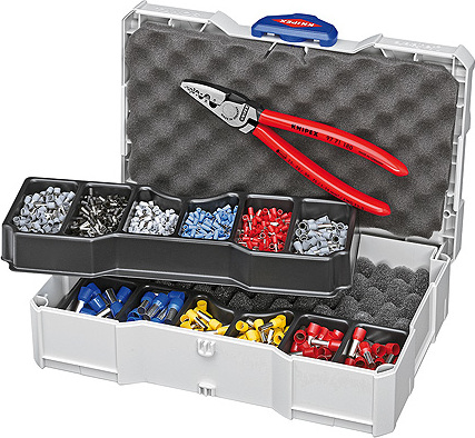 KNIPEX Crimp Assortment for end sleeves (ferrules)