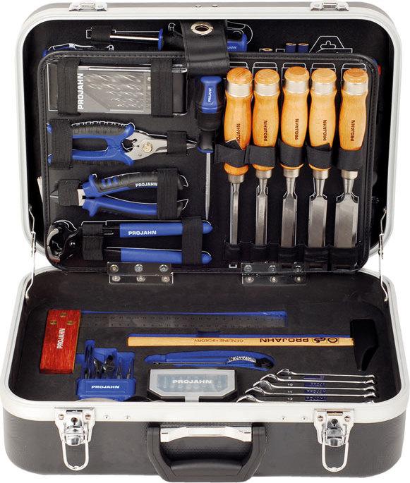 Projahn Schreiner Werkzeugkoffer 92tlg