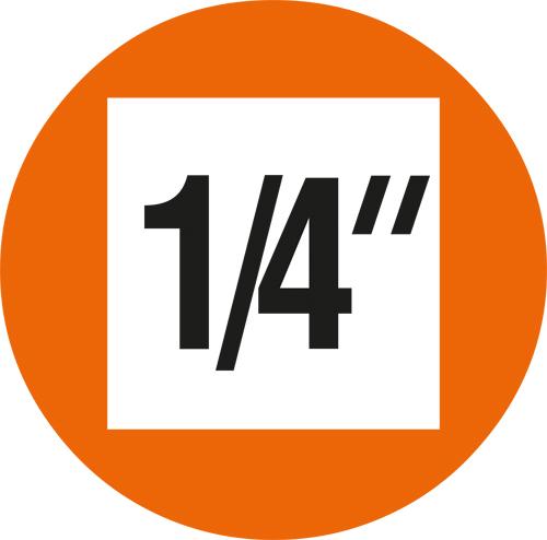 "PROJAHN 1//4/"" Bit L25 mm Schlitz 4,0 x 0,5 mm 2721"