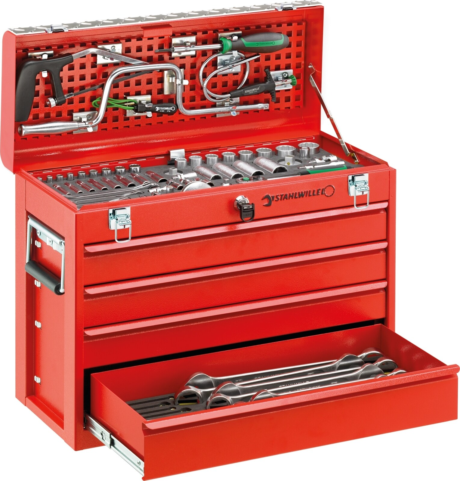 Stahlwille Line maintenance set in tool box No.13214A 123-pcs.