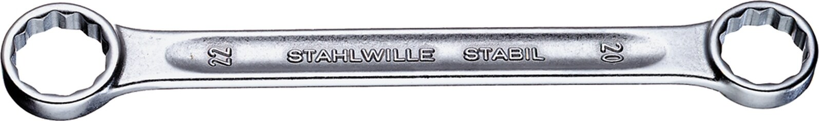 Stahlwille DOUBLE ENDED RING SPANNER 21 13 X 17