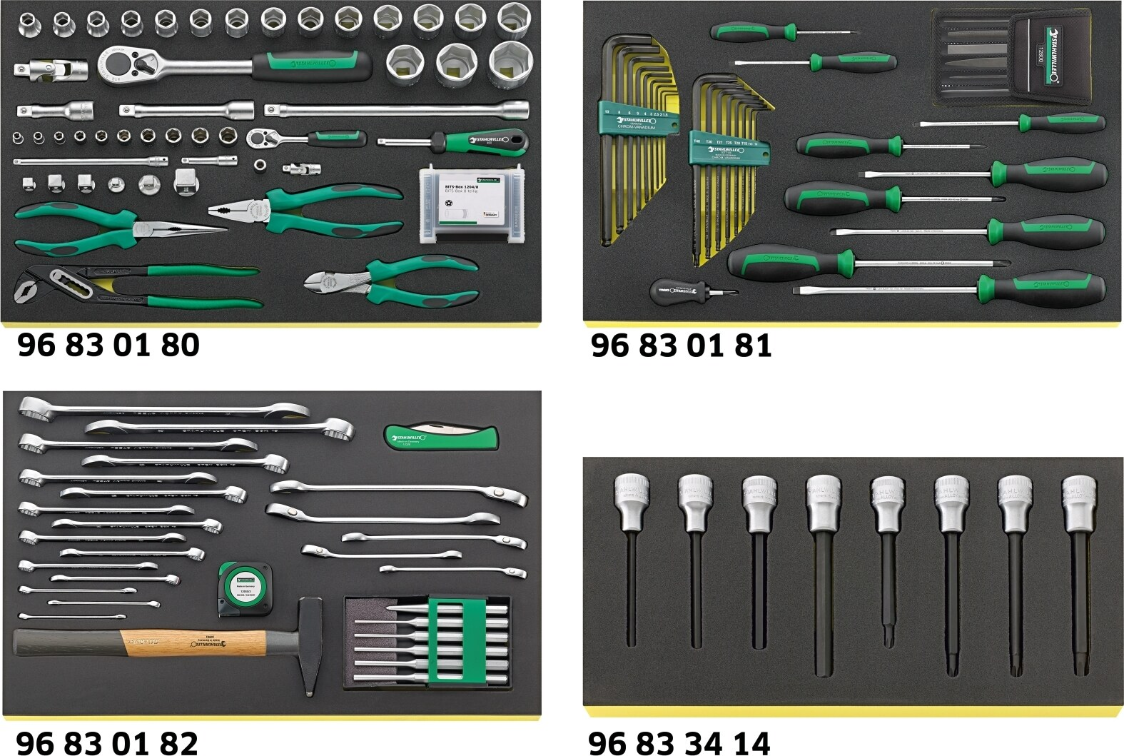Stahlwille Workshop set for BMW motorbikes No.2502 TCS 139-pcs.