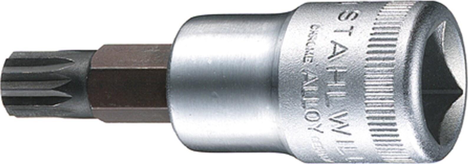 Argent Stahlwille 55 19 Cl/é /à douilles 19 mm