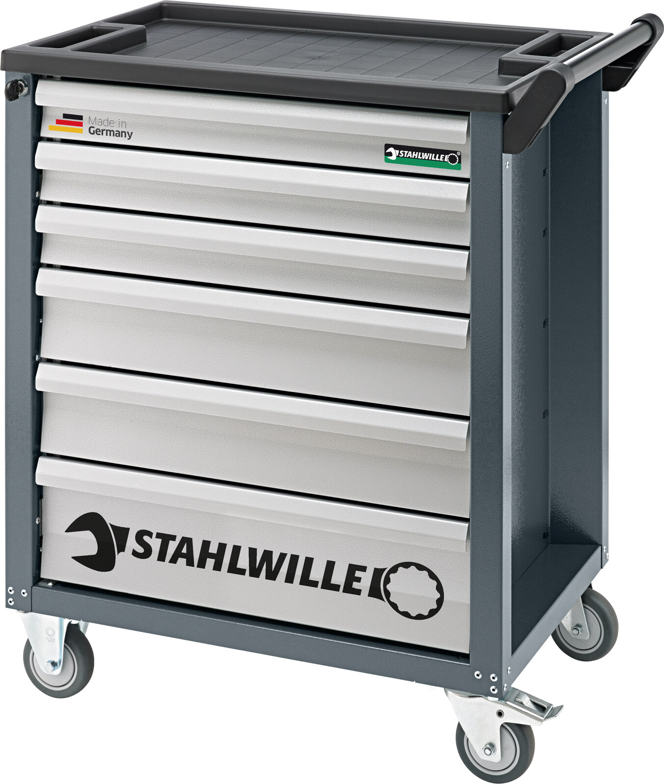 Stahlwille Tool Trolley 6 Drawers Charcoal Grey, RAL 7016