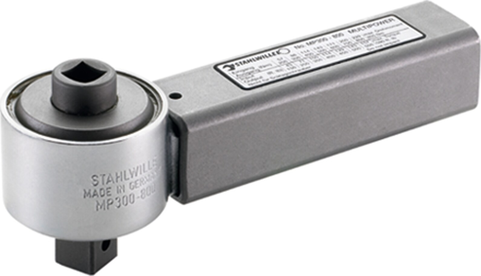 "Stahlwille MULTIPOWER size3000 *) 3000 Nm inside square 3/4 "" external square 1 "", 1 "", 3000 Nm"